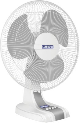 Luminous Mojo_Table 3 Blade Table Fan(White) 400mm