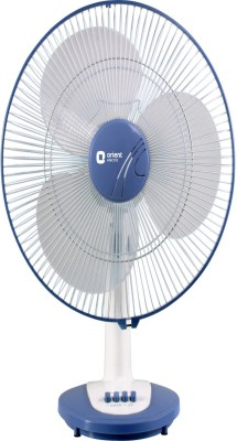 Orient 400 mm Desk 25 3 Blade Table Fan(Blue)