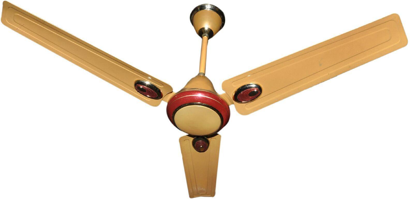 View RPM AEROMETIC 3 Blade Ceiling Fan(GOLDEN) Home Appliances Price Online(RPM)