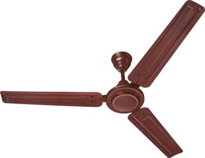 Bajaj Crest LX 3 Blade Ceiling Fan(Brown)