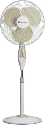 Bajaj Elite Neo 400MM 3 Blade Pedestal Fan(white)