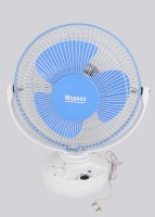 Wapson Turbo Osc 3 Blade Table Fan(Blue, White)