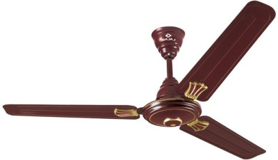 Bajaj Bahar Decorative 1200mm 4 Blade Ceiling Fan(Yellow)