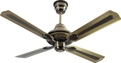Havells Florence 4 Blade Ceiling Fan(Black) 1320mm
