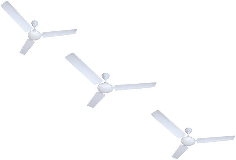 View Omen 48 Inch Elegant 3 Blade Ceiling Fan(White) Home Appliances Price Online(Omen)
