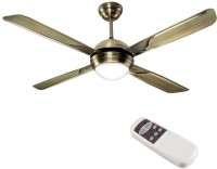 Havells Avion With Underlight Remote 4 Blade Ceiling Fan(Brown)