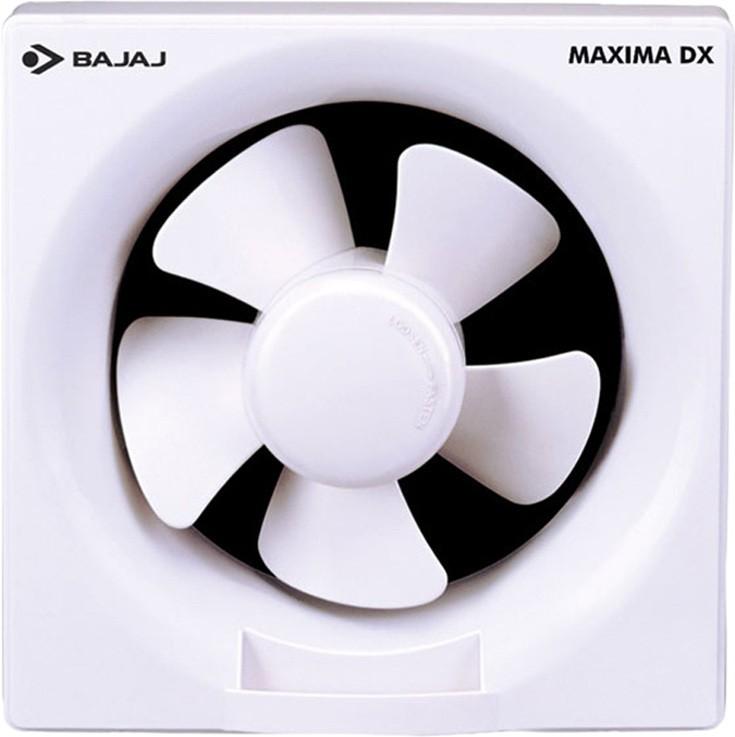 Bajaj dlx 150mm 5b 5 Blade Exhaust Fan(White)