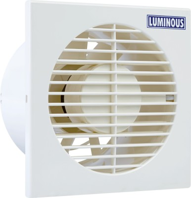 Luminous Vento Axial 6 Blade Exhaust Fan(White, Milk)
