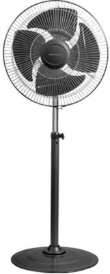 Havells 450 mm Windstorm 4 Blade Pedestal Fan(Attractive bi-colour metal finish, Metallic Grey)