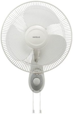 Havells Swing Platina 400mm 55-Watt High Speed (White) 3 Blade Wall Fan(White)