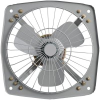 Suntreck 12Copper Fresh Air 3 Blade Exhaust Fan(Grey)