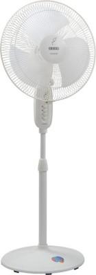 Usha MAX AIR 3 Blade Pedestal Fan(WHITE) 400mm