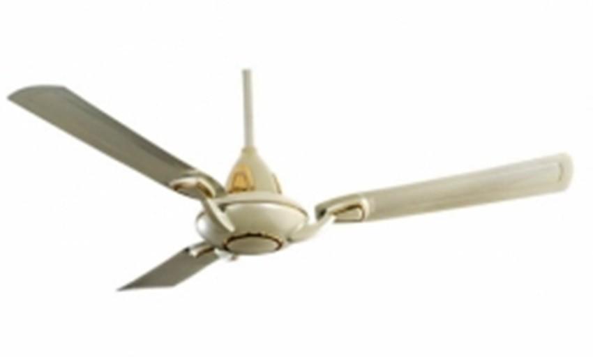 View Breezalit Alkasa 3 Blade Ceiling Fan(Beige) Home Appliances Price Online(Breezalit)
