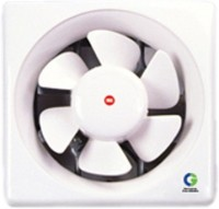 Crompton Brisk Air 250mm 6 Blade Exhaust Fan(White)