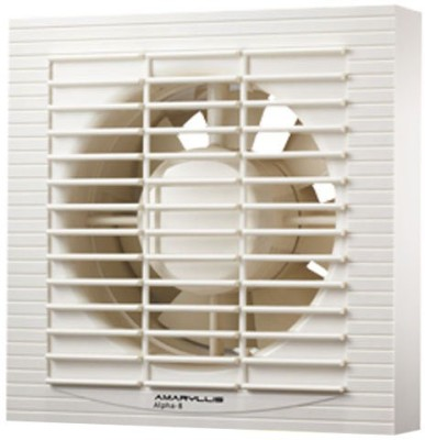Amaryllis Alpha-8 7 Blade Exhaust Fan(White)