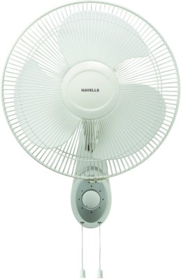 Havells Swing Platina 400 mm 3 Blade Wall Fan(White)