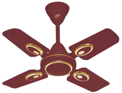 Orpat Air Fusion  600 mm 4 Blade Ceiling Fan(Brown)