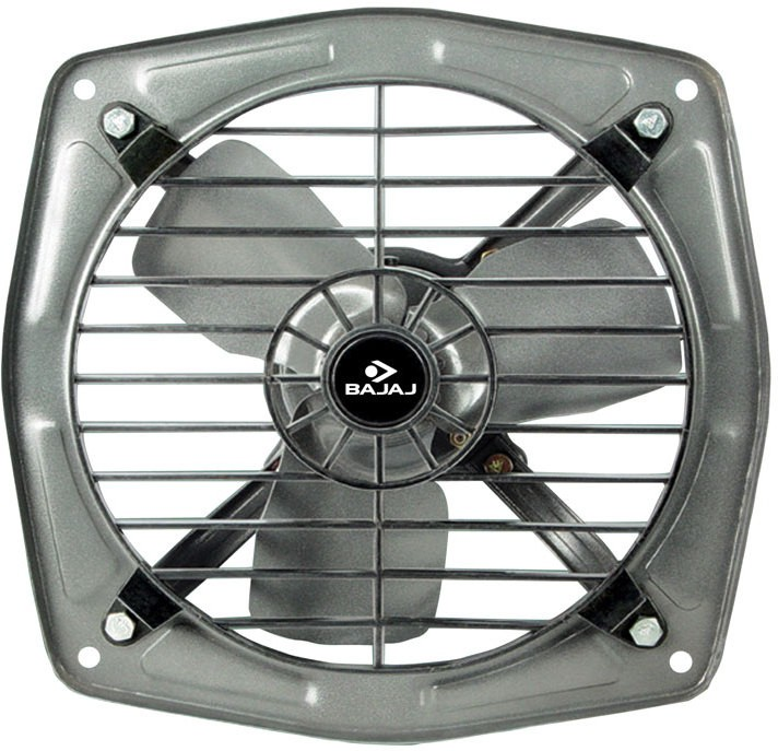 Bajaj Bahar 225 mm 3 Blade Exhaust Fan(Grey)