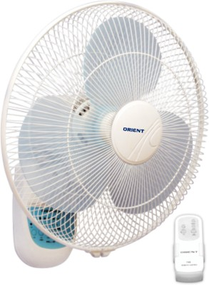 Orient 49 3 Blade Wall Fan(White, Blue)