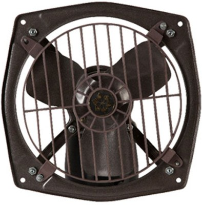 Usha Turbojet 3 Blade Exhaust Fan(Grey)