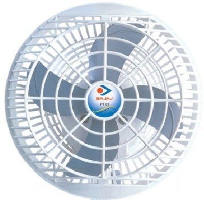 Bajaj Ultima 4 Blade Wall Fan(White, Blue)