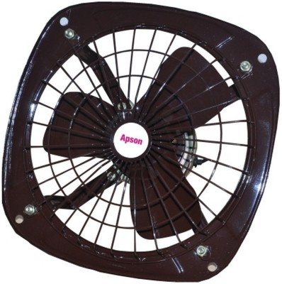 Apson Fresh Air 9 3 Blade Exhaust Fan(Black)