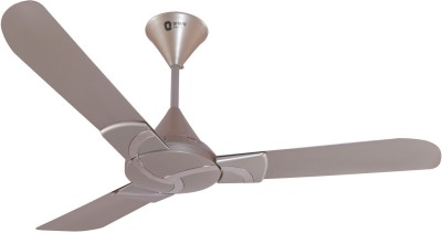 Orient Curl Winter Pearl-Antique Copper 1200mm 3 Blade Ceiling Fan(Silver, White)