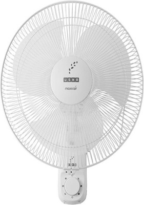 Usha Maxx Air 400MM 3 Blade Wall Fan(White)