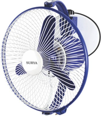 Surya Windy 225 Mm 3 Blade Wall Fan(Multicolor)