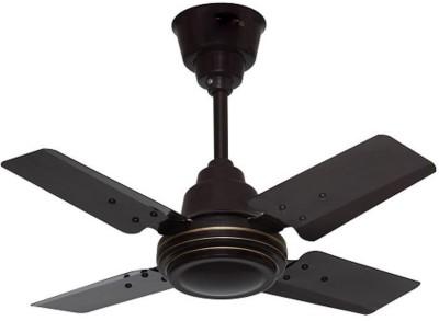 Sameer Gati  600 mm 24 4 Blade Ceiling Fan(Red)