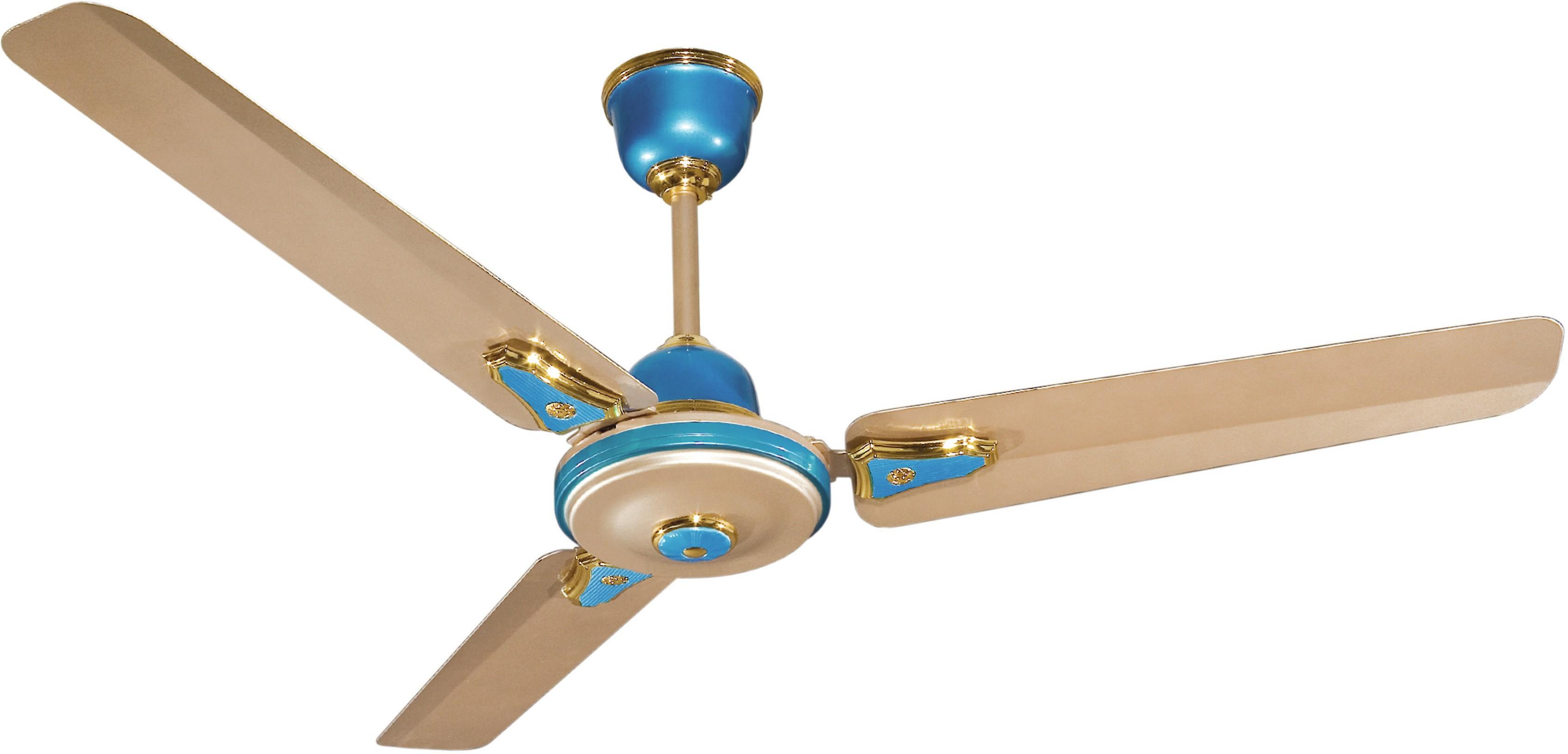 Crompton Greaves Hs Decora Metallic 1200mm Aqua 3 Blade Ceiling Fan Gold