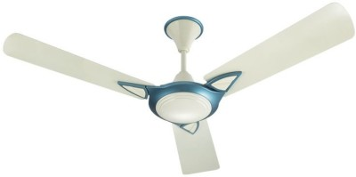 Bajaj Leatrim 1200 mm 3 Blade Ceiling Fan(White)