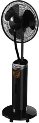 GoNag MF-1002-IN 3 Blade Pedestal Fan(Black)