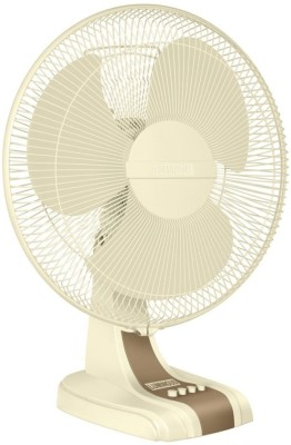 Luminous Mojo HS Table 3 Blade Table Fan(White, Yellow) 400mm