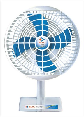 Bajaj PT-01 4 Blade Table Fan(WHITE) 200mm