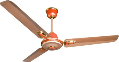 Crompton Greaves HS Decora Metallic ( 1200mm) Ginger 3 Blade Ceiling Fan(Gold)