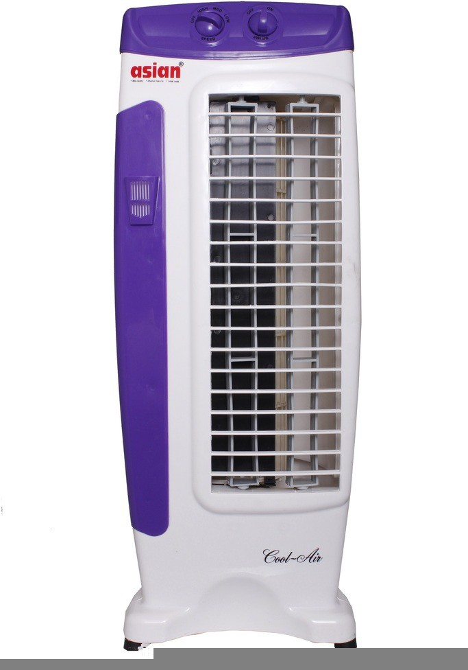 View Asian Tower 3 Blade Tower Fan(Purple, White) Home Appliances Price Online(Asian)