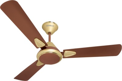 Havells Fusion II 1200mm MATT Beige 3 Blade Ceiling Fan(Brown, Beige)