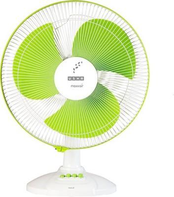 Usha MAXX AIR 3 Blade Table Fan(GREEN) 400mm