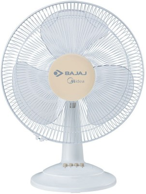 Bajaj BT 07 3 Blade Table Fan(WHITE) 400mm