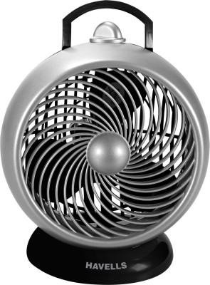Havells I cool 3 Blade Table Fan(Silver, Black) 180mm