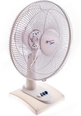 Bajaj Midea BT05 3 Blade Table Fan(White) 400mm