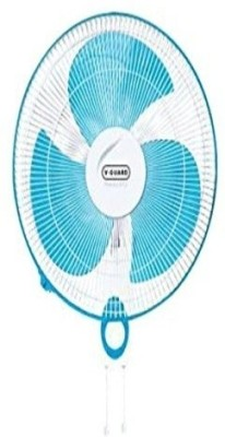 V-Guard Finesta Std 400mm 3 Blade Wall Fan(Blue, White)