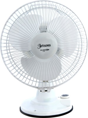 Jetsons MP-212 12 inch 3 Blade Table Fan(White)