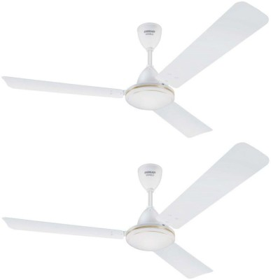Eveready FAB M pack 2 3 Blade Ceiling Fan(White)
