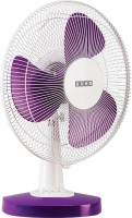 Usha MIST AIR DUOS 3 Blade Table Fan(PURPLE)