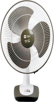Orient 400 mm Tabel 27 3 Blade Table Fan(Multicolor)