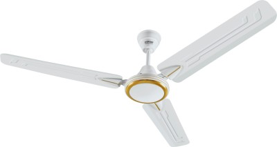 Eveready Super Fab M 3 Blade Ceiling Fan(White)