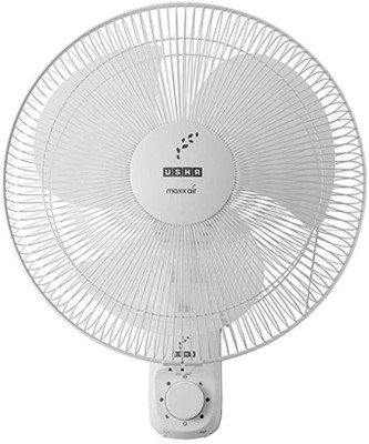 Usha Maxx Air Dew 300mm 3 Blade Wall Fan(White)