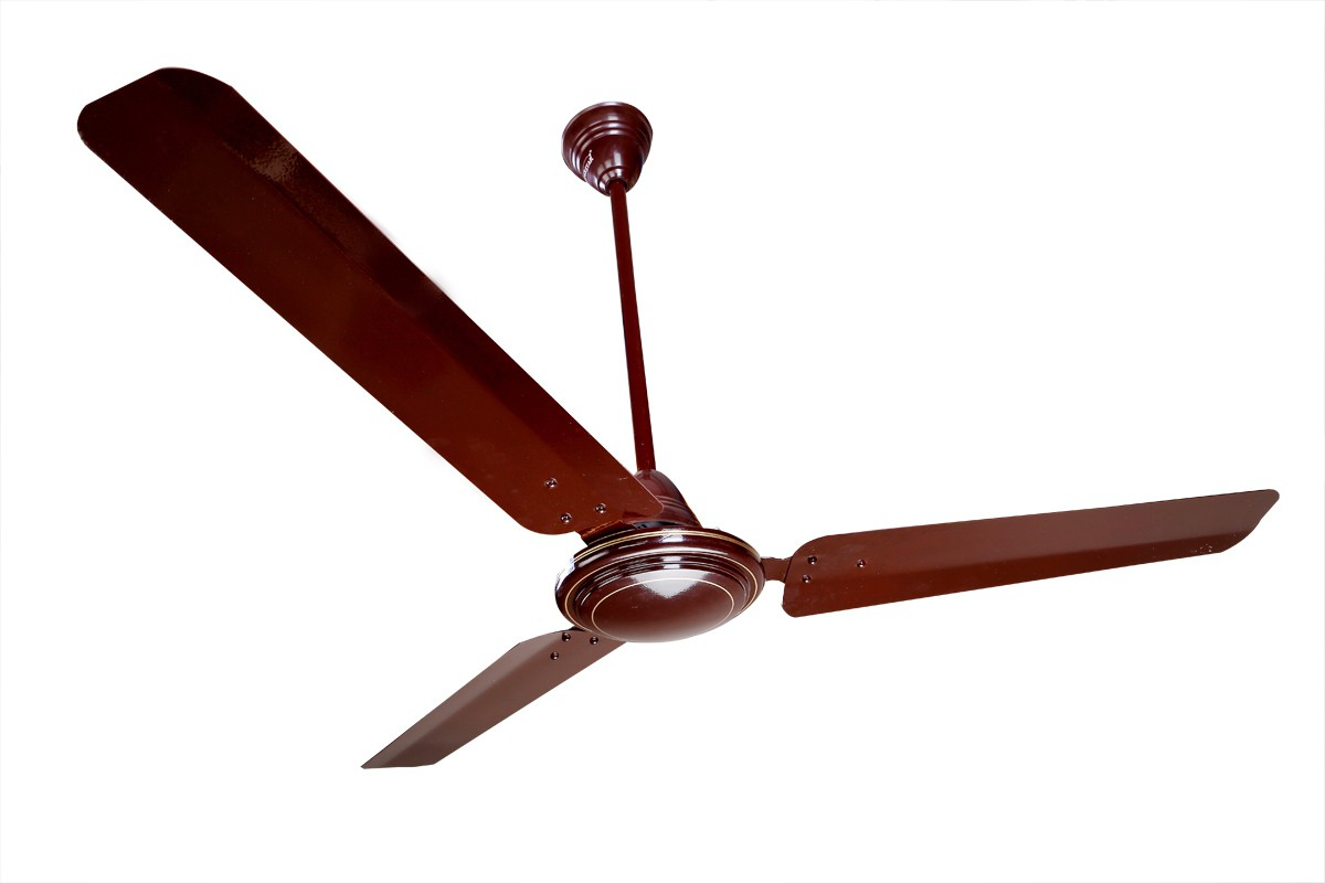 View Super Star Shower 3 Blade Ceiling Fan(Brown) Home Appliances Price Online(Super Star)